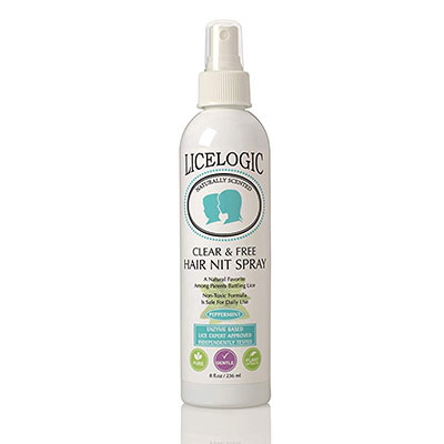 1. Lice Treatment Hair Spray to Kill Lice & Nits by Logic Products