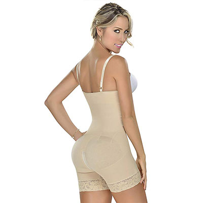 1. MyD 0066 Fajas Colombianas Backless Body Shaper