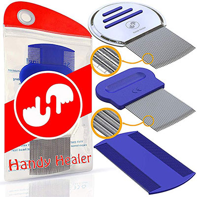 6. Head Lice Comb Set by HandyHealer