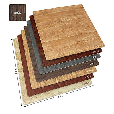 8. Sorbus wood grain interlocking mats tile
