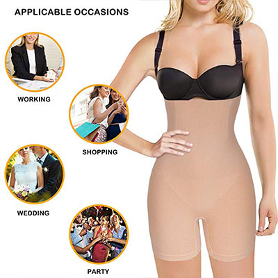 6. Nebility Women Waist Trainer Body Shaper