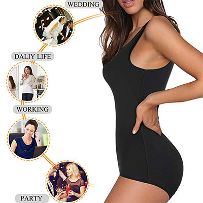 3. Irisnaya Shapewear Full Body Shaper
