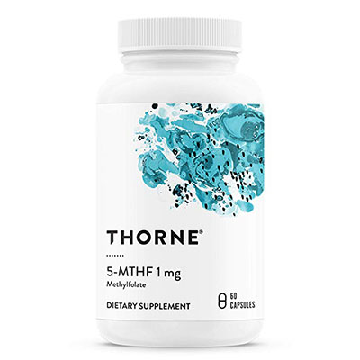 8. Thorne Research - 5-MTHF 1 mg Folate