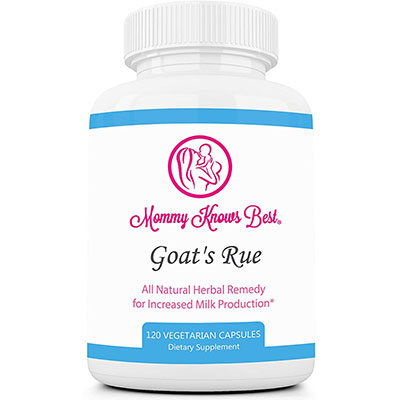 10. Goats Rue Lactation Supplement by Mommy Knows Best