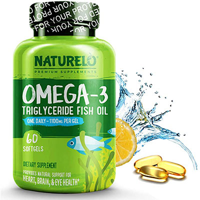 1. NATURELO Omega-3 Fish Oil