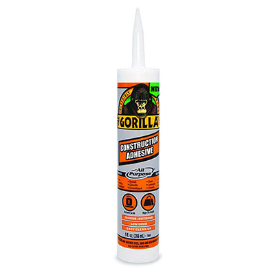 2. Gorilla All-Purpose Instant Grab Adhesive, 9 ounce
