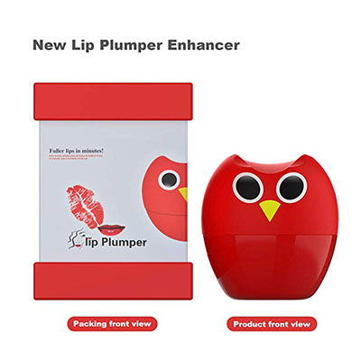 1. Lip Plumper Device by Fofashion (Red)