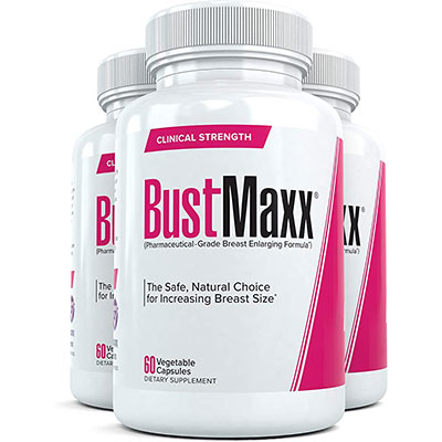 6. Bustmaxx - All Natural Breast Enhancement