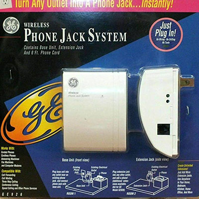 3. Wireless Phone Jack System by GE