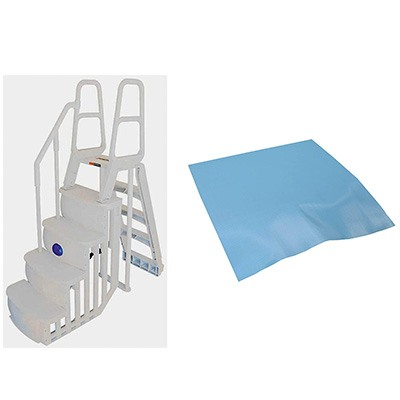 7. Main Access 200100T Above Ground Swimming Pool Smart Step/Ladder System