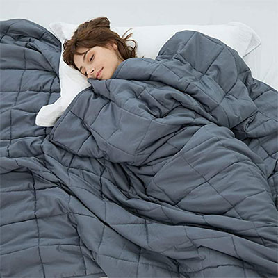 7. Weighted Idea Cool Weighted Blanket
