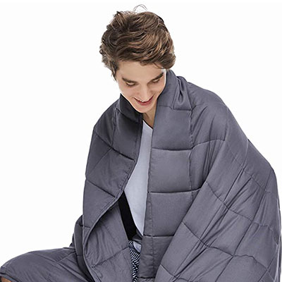 9. ZonLi Adults Weighted Blanket