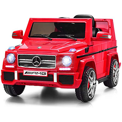 5. Costzon Ride-On Car for Kids, Mercedes Benz