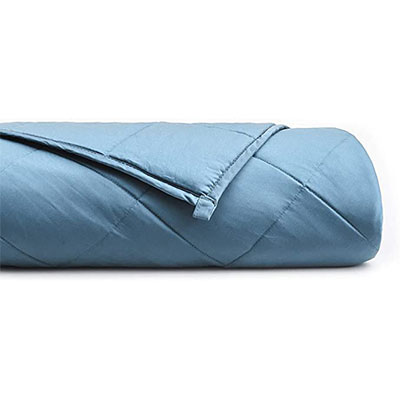 5. YnM Bamboo Weighted Blanket