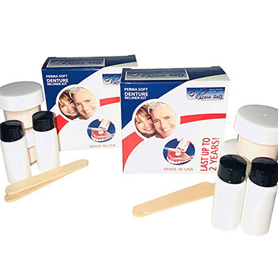 3. Perma Soft Denture Reline Kit- 2 Boxes