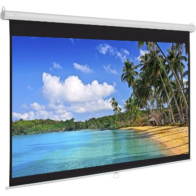 3. Best Choice Products 119in HD Indoor Manual Widescreen