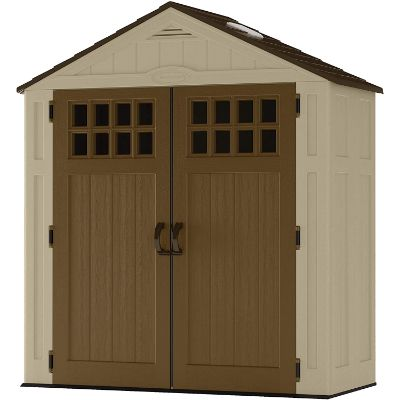 1. Suncast 6' x 3' Outdoor Storage Shed