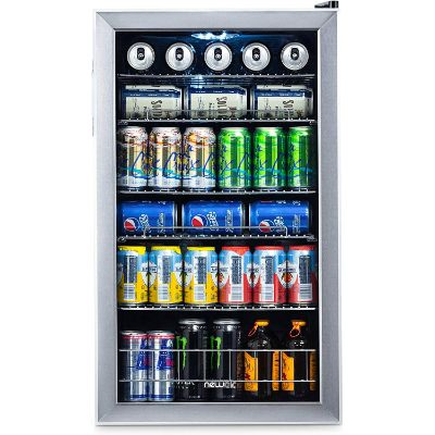 8. NewAir Beverage Cooler and Refrigerator