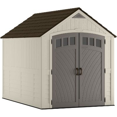 9. Suncast BMS8025 Covington 481 cu. ft. Storage Shed
