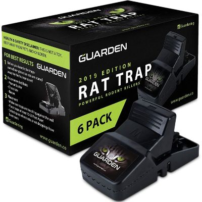 3. Guarden Rat Traps – 6 pack