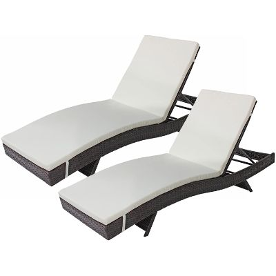 1. Divano Roma Furniture 2-Pack All-Weather Chairs