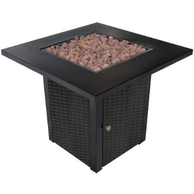 6. LEGACY HEATING Gas Fire Pit Table