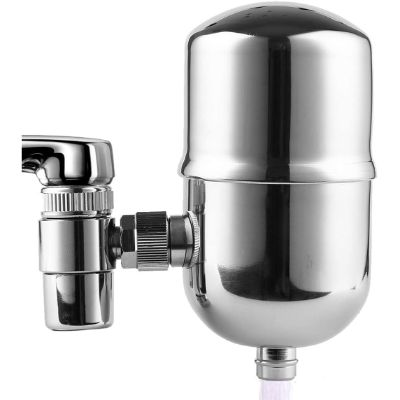 6. Engdenton Faucet Water Filter Stainless