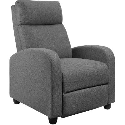 10. JUMMICO Fabric Recliner Chair Review