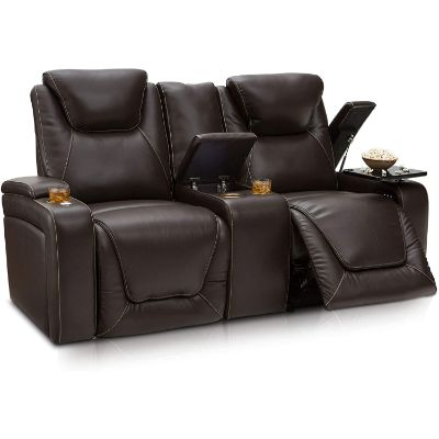 8. Seatcraft Vienna Leather Loveseat Review
