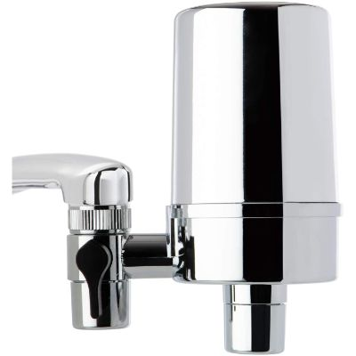 7. iSpring DF2-CHR Faucet Mount Water Filter