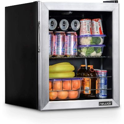 6. NewAir NBC060SS00 Beverage Cooler and Refrigerator