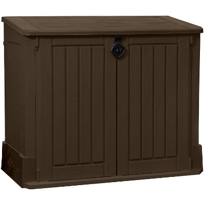 2. Keter Store-It-Out Woodland 4.25 x 2.4 Storage Shed