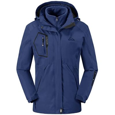 9. Rdruko Women's Outdoor 3-in-1 Jacket