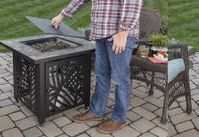 Best Outdoor Fire Pit Table