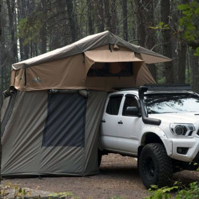 6. Tuff Stuff Ranger Overland Rooftop Tent with Annex Room