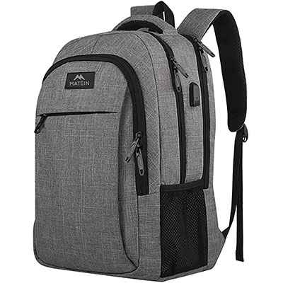 10. Travel Laptop Backpack by MATEIN