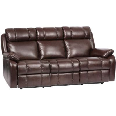 10. FDW Recliner Leather Sofa for Living Room