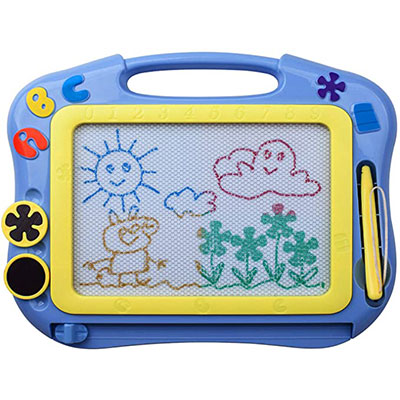 2. ikidsislands IKS85B Color Magnetic Drawing Board