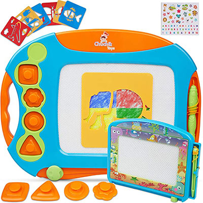 9. CHUCHIK Toys Magnetic Drawing Board Set