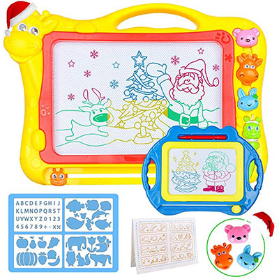 6. Magnetic Drawing Board for Kids