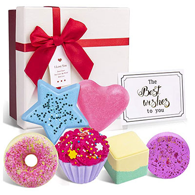 1. Bath Bombs Gift Set, Norbase Organic