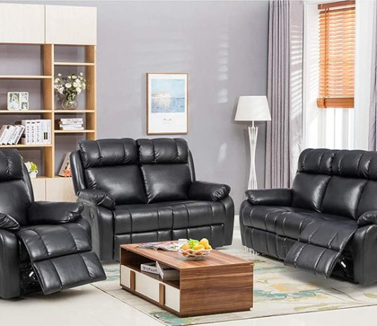 Best Leather Reclining Sofa