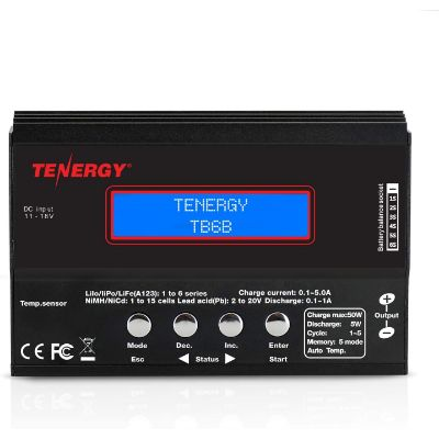 10. Tenergy TB6-B Digital Battery Pack Charger