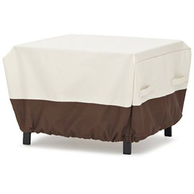 6. AmazonBasics Deep Lounge 2-Seater Sofa Furniture Cover