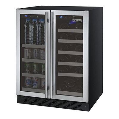 2. Allavino FlexCount VSWB-2SSFN French Door Beverage Center