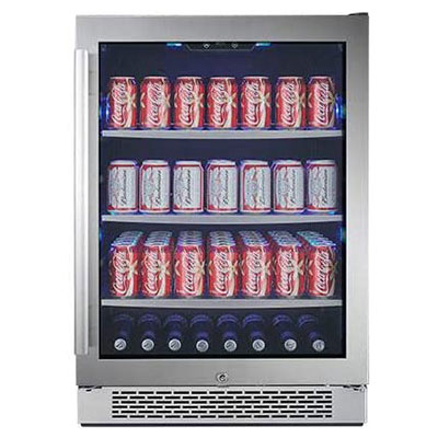 6. Avallon ABR241SGRH Can 24-Inch Built-In Beverage Center
