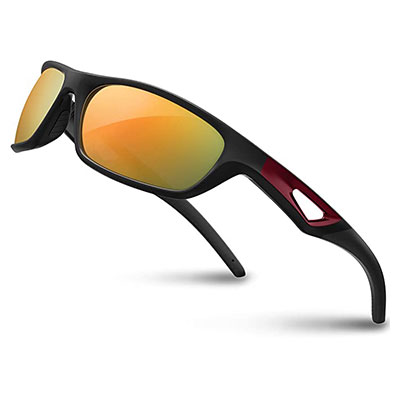 9. RIVBOS Polarized RB831 Sports Sunglasses