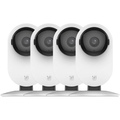 7. YI 4pc Home Camera Security Surveillance System