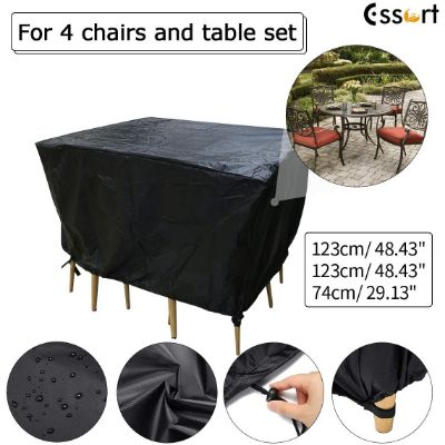 5. ESSORT Extra Large Patio Furniture Covers