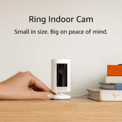 9. Ring Indoor Cam, Compact HD security camera